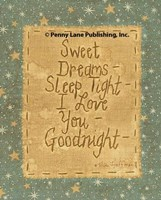 Goodnight Wishes Fine-Art Print