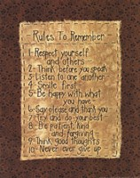 Rules To Remember Fine-Art Print