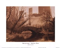 Reflections - Central Park Fine-Art Print