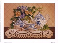 Tea And Lace I Fine-Art Print