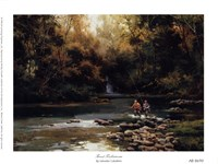 Trout Fishermen Fine-Art Print