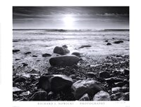 Sun Surf and Rocks Fine-Art Print