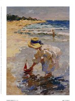 Seaside Summer II Framed Print