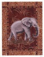 Lone Elephant Fine-Art Print