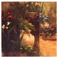 Flower Pots Right Fine-Art Print