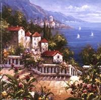 Mediterranean Arches III Fine-Art Print
