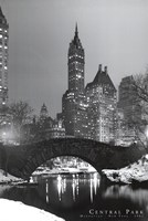 Central Park, c.1961 Wall Poster