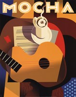 Cubist Mocha Fine-Art Print