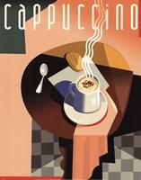 Cubist Cappuccino Fine-Art Print