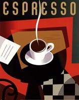 Cubist Espresso Fine-Art Print