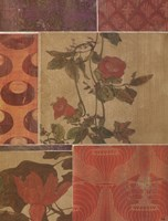 Flowers and Fabric #3 Fine-Art Print
