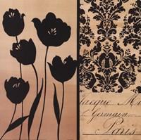 Noir Et Creme I Fine-Art Print