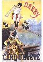 Darby Cirque D'ete Fine-Art Print