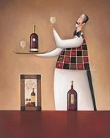 Carte Des Vins Fine-Art Print