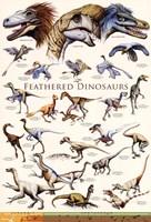 Feathered Dinosaurs II Fine-Art Print