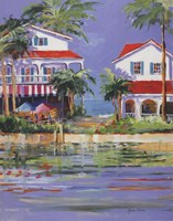 Beach Resort II Fine-Art Print