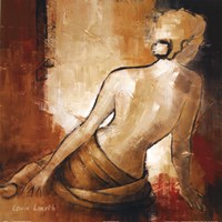 Seated Woman I Fine-Art Print