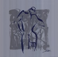 Body Language VIII (silver) Fine-Art Print