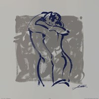 Body Language IX (silver) Fine-Art Print