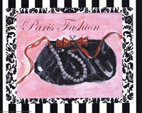 Bling Bling I - Paris Fashion Fine-Art Print