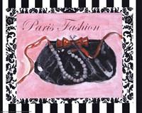 Bling Bling I - Paris Fashion Framed Print