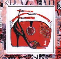 Magazine Mania Shoes I Fine-Art Print