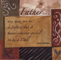 Words to Live By - Father Fine-Art Print