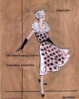 50's Dept Store Ads Elegant Style Fine-Art Print