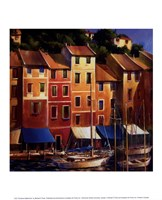 Portofino Waterfront Fine-Art Print
