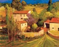 La Femme en Provence Framed Print