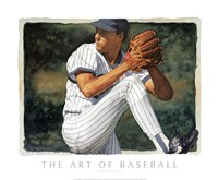 The Art of Baseball - The Pitcher Fine-Art Print