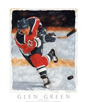 Slap Shot Fine-Art Print