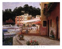 Morning Stroll - Portofino Fine-Art Print