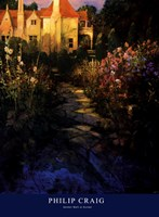 Garden Walk at Sunset Fine-Art Print