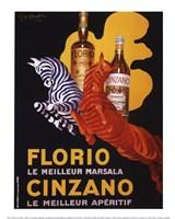 Florio e Cinzano, 1930 Fine-Art Print