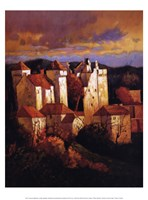 Curemont Medieval Framed Print