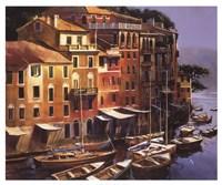 Mediterranean Port Fine-Art Print