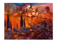 View from San Gimignano Fine-Art Print