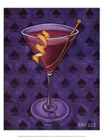 Martini Royale - Spades Fine-Art Print