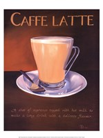 Urban Caffe Latte Framed Print
