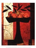 Fruit on Silk Fine-Art Print
