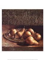 Pears on a Platter Fine-Art Print