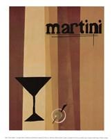 Groovy Martini I Fine-Art Print