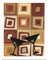 Groovy Martini II Fine-Art Print
