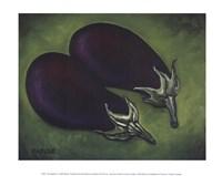Two Eggplants Fine-Art Print