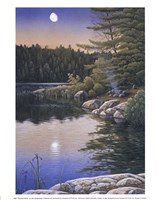 Moonlit Embers Fine-Art Print