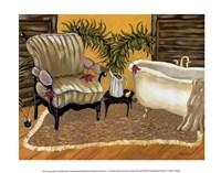 Canary Bath Fine-Art Print