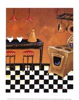 Retro Kitchen III Fine-Art Print