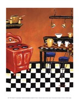 Retro Kitchen IV Fine-Art Print