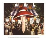 Twilight Cafe Fine-Art Print